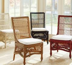 Pottery Barn Rattan Chair C60
