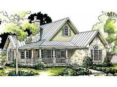 Small Picture Plan 48033FM Petite French Cottage French country house plans