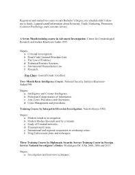 Bachelor Degree Resume Sample College Student Curriculum Vitae Sample