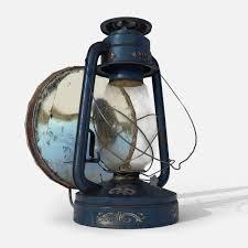 Old Oil Light Old Oil Lamp 3d Model
