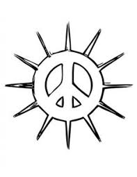 Small Picture free peace sign coloring pages for kids Google Search Party