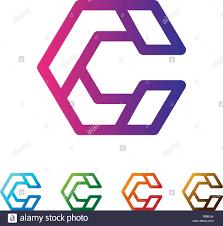 Business Monogram Designs Letter C Set Logo Template Vector Illustration Ready Use For