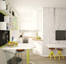 spacious small kitchen design. View In Gallery Teeny-tiny-apartment-designed-bright-spacious-4-kitchen. Spacious Small Kitchen Design N