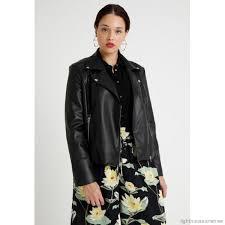 second script curve biker jacket faux leather jacket black womens leather jackets sef21g001 q11