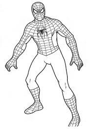 Disegno Di Spider Man Da Colorare Disegni Da Colorare E Stampare