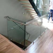 glass stair railings side mounted tempered glass standoff stair railing glass stair railings philippines