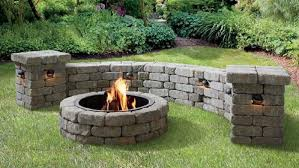 How To Build A Patio Block Fire Pit Lowe S Canada
