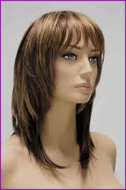 Coupe De Cheveux Mi Long Femme Avec Frange Fashionsneakers