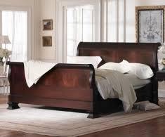 mahogany sleigh bed. Fine Bed Hamilton Sleigh Bed  U003e Inside Mahogany Charles P Rogers