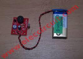 simple refrigerator door alarm circuit eleccircuit com refrigerator door detector alarm kit