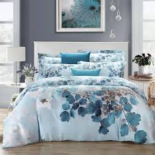 whole super soft 1000tc watercolor bedding set king queen size doona duvet cover bedsheet pillowcase bed sets 100 tencel fabric fabric candle fabric