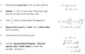 quadratic formula calculator with steps