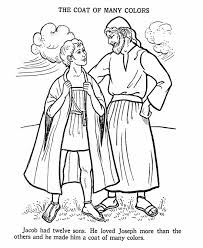Joseph Coloring Pages Printable At Getdrawingscom Free For