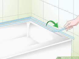 image titled caulk a bathtub step 7