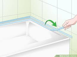 image titled caulk a bathtub step 7