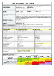 Security Risk Assessment Checklist Template Construction Project ...