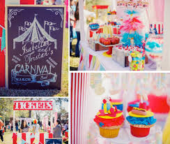 Teens carnival birthday parties