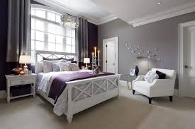 bedroom colors with white furniture. Pale Lavender Hues Complement The Use Of Bold Purple Accents While White Furniture And Trim Bedroom Colors With C