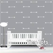 name decal for nursery white arrow wall decals arrow wall decal arrow wall art white wall