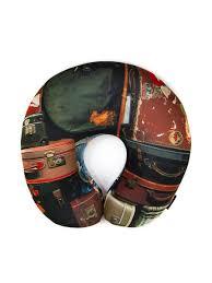 <b>Подушка</b> дорожная для шеи, серия <b>Travel</b>, дизайн <b>Travels</b> bags ...