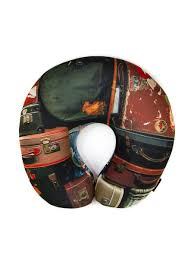 <b>Подушка</b> антистресс для шеи, серия Travel, дизайн Travels bags ...
