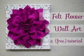 kori felt flower wall art tutorial on felt flower wall art diy with help kori felt flower wall art tutorial
