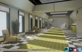 office hallway. Kristiaan Renaerts Officehallway 03 Office Hallway