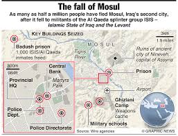map of mosul showing location of ruins of nineveh  interesting