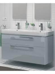 double sink vanity unit e  grey double vanity unit wall hung