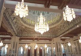 the prayer hall has other similar smaller chandeliers too when they are all lit up they look magnificent and you will not be able to take your eyes off