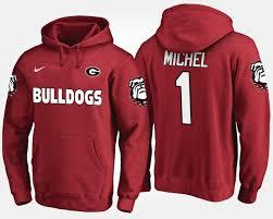 Sony Bulldogs Georgia Hoodie 1 Men's Michel Red