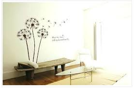 wall art stickers for bathrooms wall decals for bathroom quotes dandelions flowers home decoration vinyl removable wall stickers child love bathroom wall  on wall art stickers for bathroom with wall art stickers for bathrooms wall decals for bathroom quotes