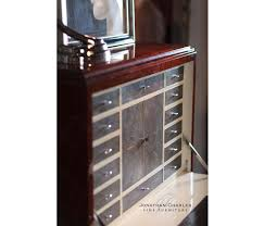 art deco style secretaire with stainless steel high lustre art deco style rosewood secretaire 494335