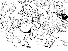 Kleurplaten Sprookjesboom Figuren Heks Van Sprookjesboom Efteling