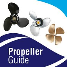 Propeller Selection Chart Prop Selector Boat Prop Guide