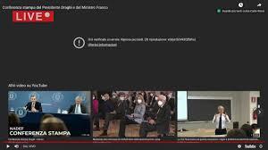 Fisco, la conferenza stampa del premier Draghi e del ministro Franco -  YouTube