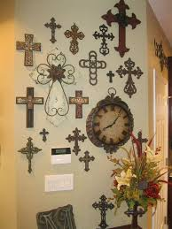 lofty ideas wall decor crosses cross v sanctuary com home painted wooden iron turquoise rustic of
