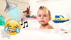 singing in the bath slyfox family