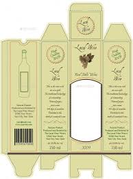 wine packaging template wine box packaging template