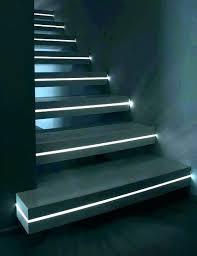 outdoor step lights lighting indoor stair led stairway deck strip