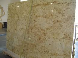 Colonial Gold Granite Kitchen Cream White Granite Countertops What Color Granite Always Looks