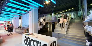 into lighting. Into Lighting Consultants Design Scheme For Flagship Asics Store London O