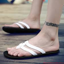 direct factory slippers boys summer korean version of the flip flops non slip beach shoes tide