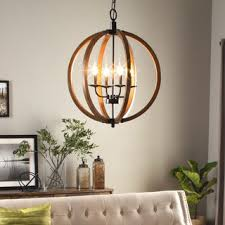 pendant and chandelier lighting. vineyard distressed mahogany and bronze 4light orb chandelier pendant lighting y