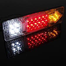 Truck Tailgate Lights Led Tail Brake Light Turn Signal Reverse Backup Rear Lamp Car Truck Trailer Stop Rear Reverse Auto Turn Indicator Lamp Buy Car Tail Light Turn