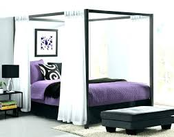 canopy bed ideas metal canopy bed frame with curtains large size of best ideas on inside