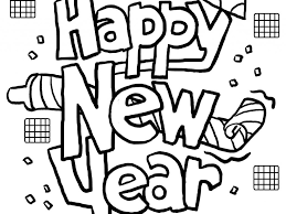 Download New Years Coloring Pages   Ziho Coloring