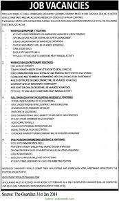 Top Warehouse Executive Job Description Server Duties Resume