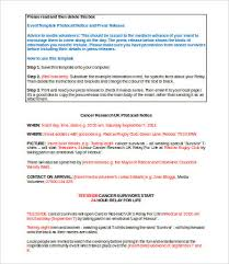 Templates For Press Releases Press Release Template Word 5 Free Word Documents