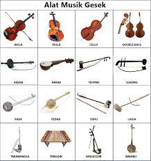 Jenis alat musik ini cara memainkannya dengan cara dipetik, ada yang digesek, ada juga yang ditekan. Pengertian Dan Gambar Alat Musik Tiup Petik Gesek Pukul Dan Tekan Redaksiweb